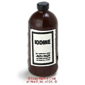 Sale 20 162 Off Dollhouse Iodine Bottle