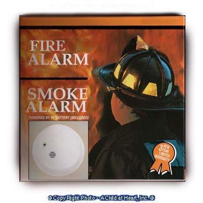 § Sale .40¢ Off - Dollhouse Smoke Alarm Box (Kit) - Product Image