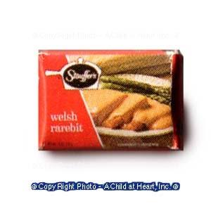 § Disc .60¢ Off - Dollhouse Frozen Welsh Rabbit Box - Product Image