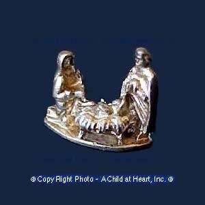Unfinished - Nativity Scene - Product Image