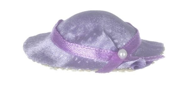 § Disc .30¢ Off - Dollhouse Purple Hat - Product Image