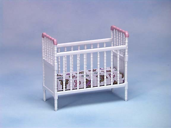 § Disc $6 Off - Dollhouse Jenny Lin Spindle Crib - Product Image