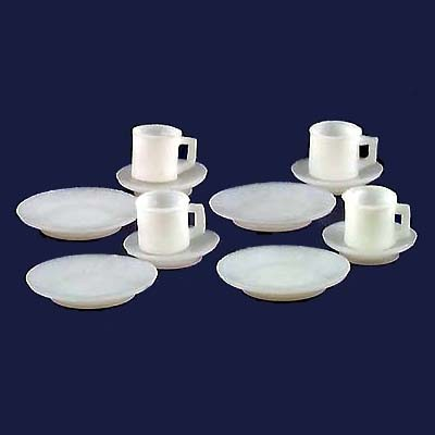 § Disc .60¢ Off - 12 Budget Modern Dish Set - Product Image