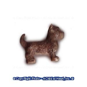 § Disc .80¢ Off - Tiny Chihuahua Dog Statuette - Product Image