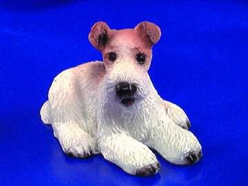 § Disc .60¢ Off - Dollhouse Airedale Terrier - Product Image
