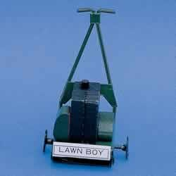 § Disc $1.20 Off - Dollhouse Green Lawn Mower - Product Image
