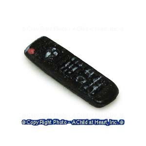 § Disc .60¢ Off - Miniature Dollhouse TV Remote - Product Image