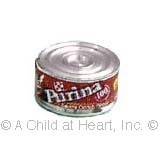 § Disc .80¢ Off - Dollhouse Can of Cat Food - Product Image