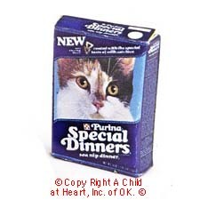 § Disc .50¢ Off - Dollhouse Special Dinners Cat Food Box - Product Image