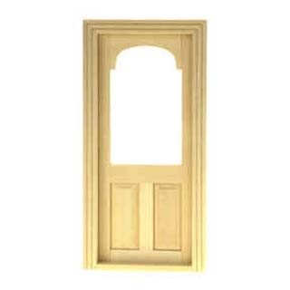 § Disc $1.50 Off - Dollhouse Shop Door w/ Frame - Product Image