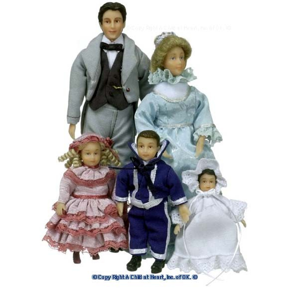 Clark Fancy Victorian Family - Product Image
