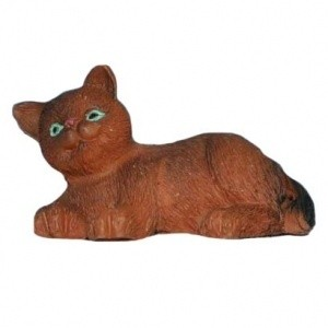 § Disc .60¢ Off - Dollhouse British Shorthair Brown Kitten - Product Image